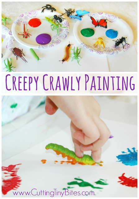Bug Painting Craft for Kids