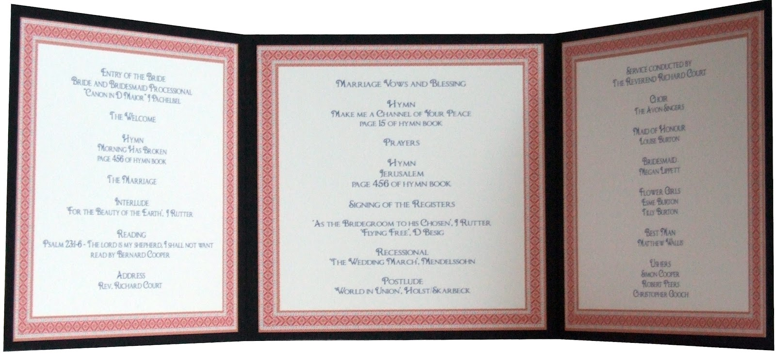 Knots and Kisses Wedding Stationery What Stationery To Order For