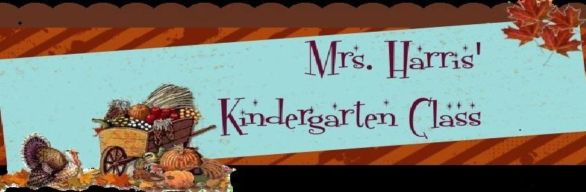Mrs. Harris' Kindergarten Class