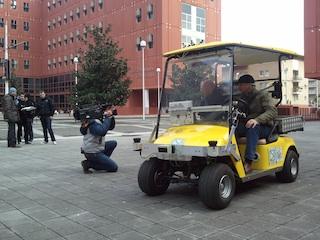 Kart elettrico Iralab Università Milano Bicocca