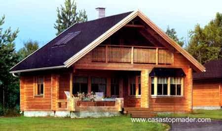 Casa de madera en España