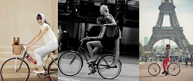 Bicycle_style_Audrey Hepburn