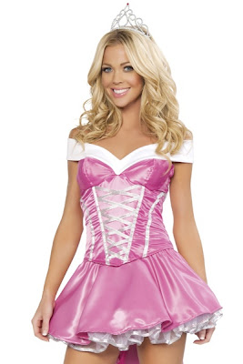 PINK DELUXE 3 PIECE BEDTIME BEAUTY COSTUME