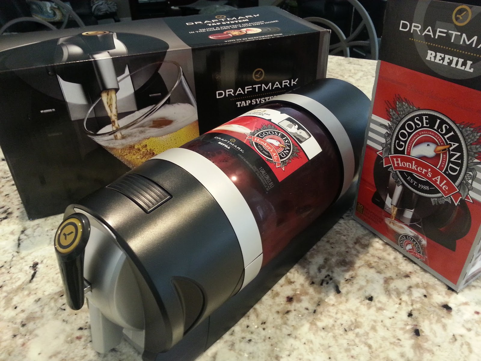 Beer tap systems for home - Draftmark In Home Draft Beer System