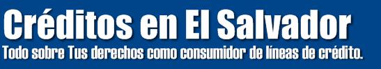 Creditos en El Salvador