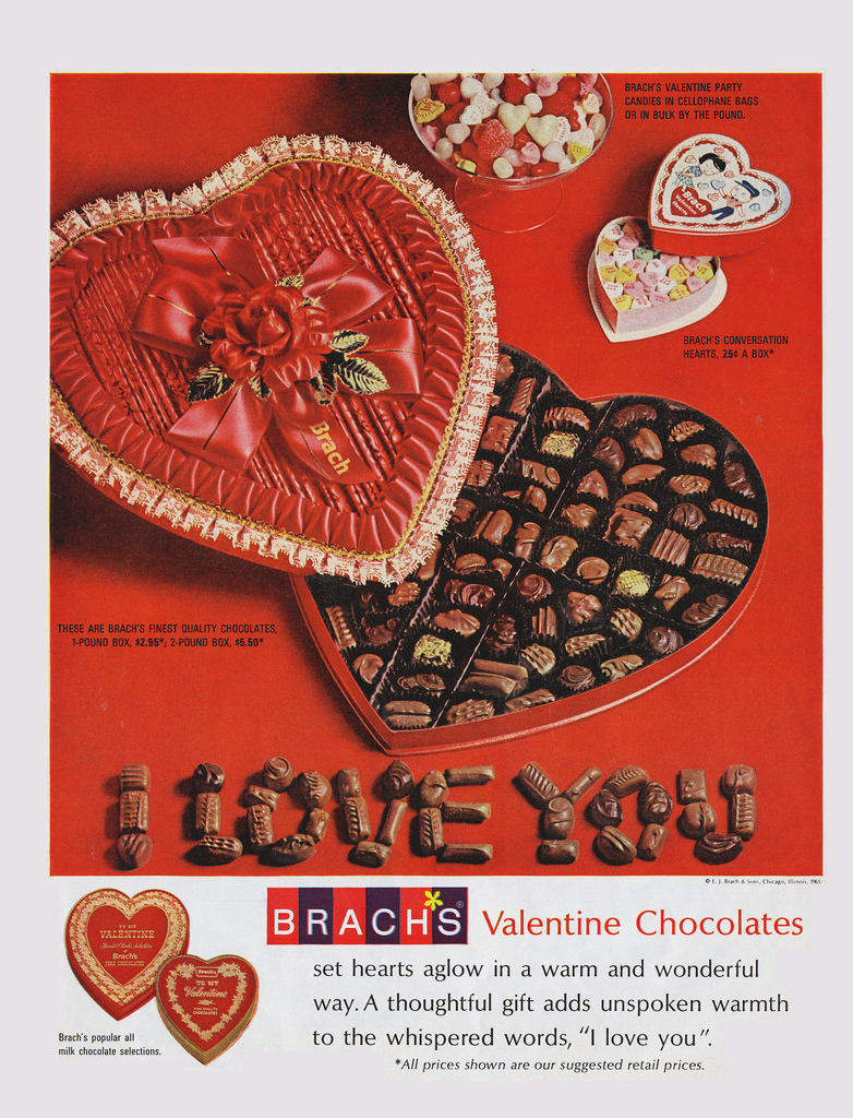 Dying for Chocolate: Vintage Valentine's Day Chocolate Ads
