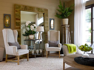 Rustic Refined Living Rooms