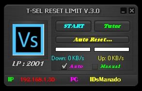 Inject Telkomsel Reset Limit V.3.0 16 Oktober 2015
