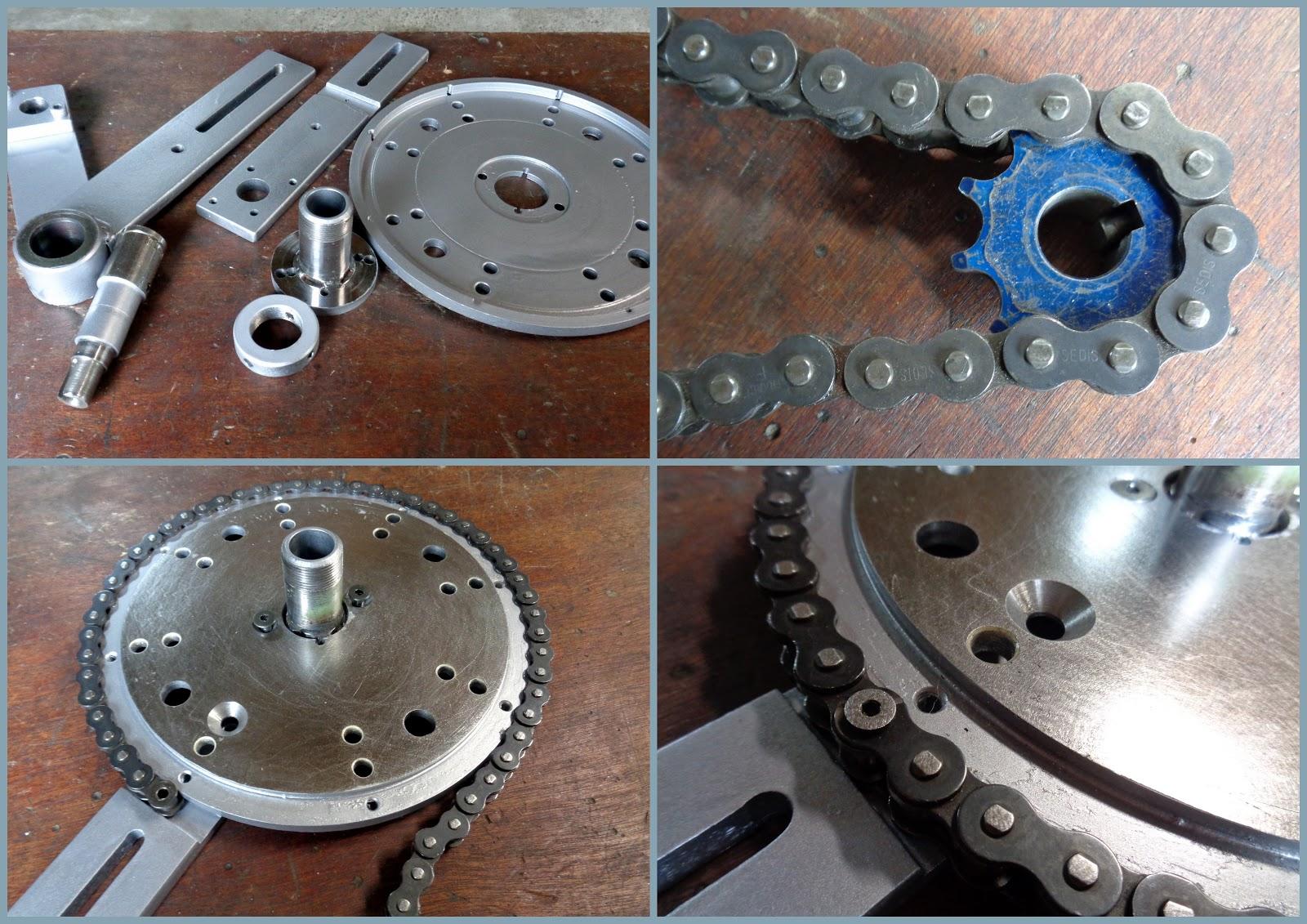 Voyages moto de jean louis changer ses pneus moto d montage montage quilibrage les - Fabriquer un demonte palette ...