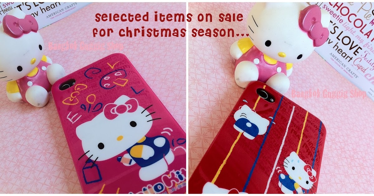 Case Design 4s phone case : Hello Kitty iPhone 4/4s case : Bangkok Guggig Shop