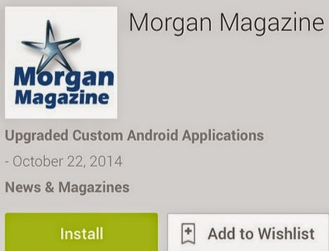 Download the Morgan Magazine App