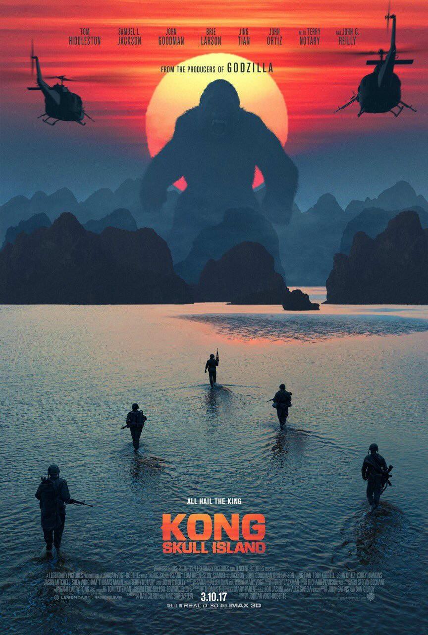 Kong: A Ilha da Caveira Dublado