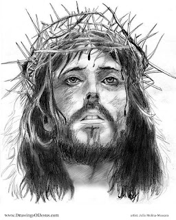 JESUS with his Crown of Thorns
