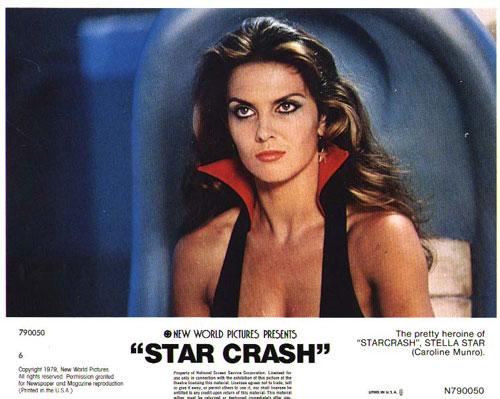 Caroline Munro Starcrash space1970: STAR...