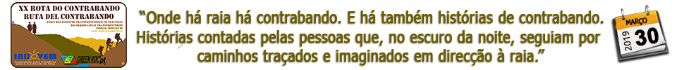 XX ROTA DO CONTRABANDO - 2019