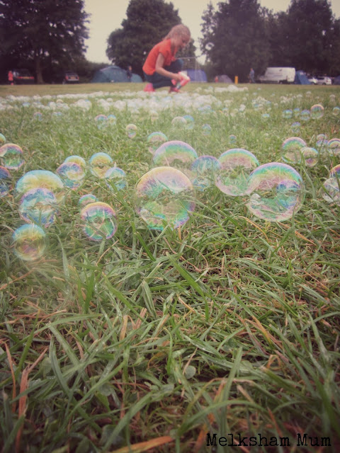 Bubble play at Greenacres
