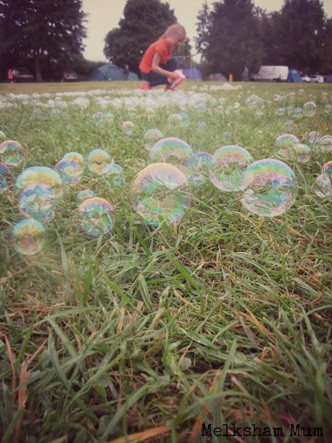 Bubble play at Greenacres