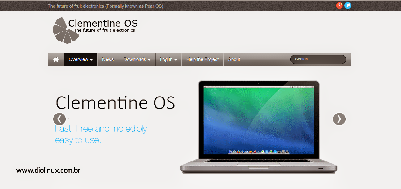 Clementine OS site