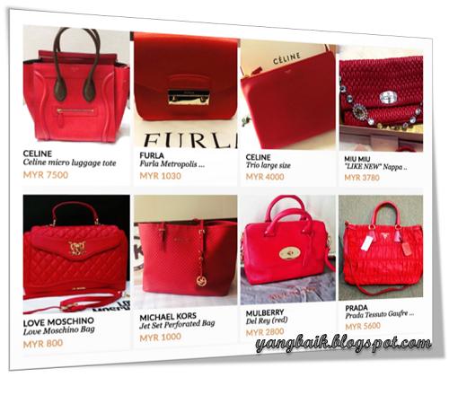 Beg Tangan Merah