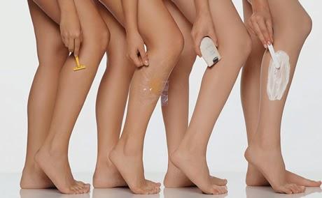 meios para depilação temporária