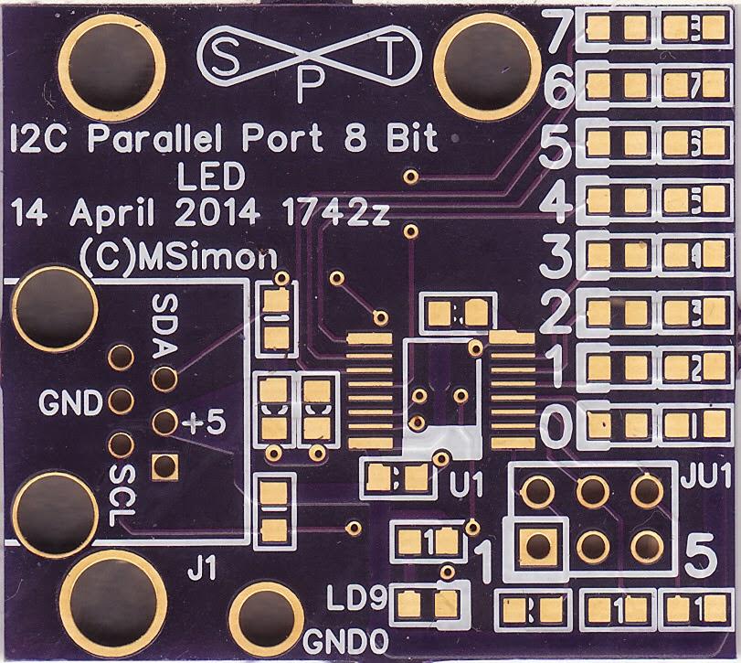 I2C Parallel Port 8 Bit