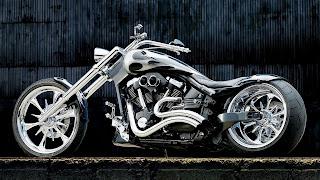 Afbeelding van een custom motorfiets