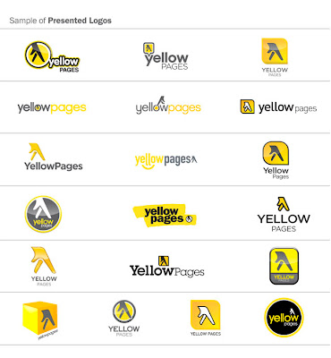 yellow pages logo samples
