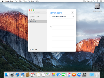 Desktop OS X El Capitan