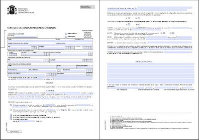 Modelos contratos indefinidos bonificados for Modelo contrato indefinido