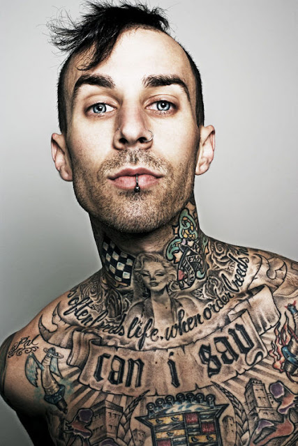 Travis Barker Tattoos