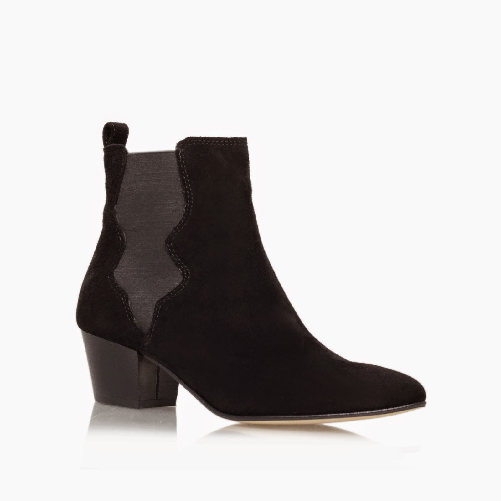 carvela black suede boots, kurt geiger black suede ankle boot, Scottie ankle boot review,