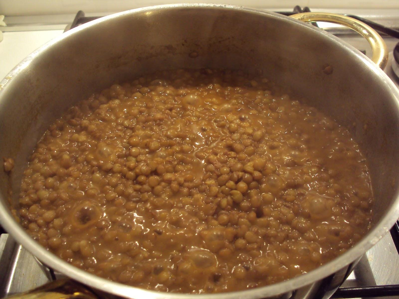 Pasta e lenticchie le ricette di anna e flavia for Lenticchie d acqua