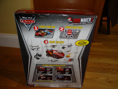 Disney..Pixar Cars 2 Ridemarkerz: Make your own car, Review and #GIVEAWAY!