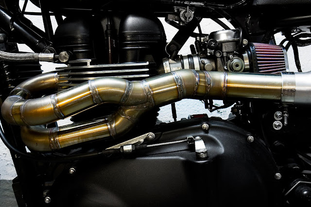 "CRD's Triumph Scrambler | custom Triumph Scrambler | Cafe racer Dreams | Triumph Bonneville Scrambler | Triumph Bonneville - ""Night Trck"""