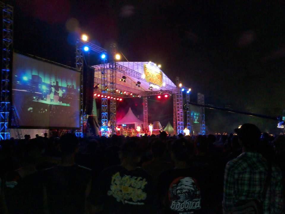 Konser Gropyokan Korupsi Berjalan Sukses