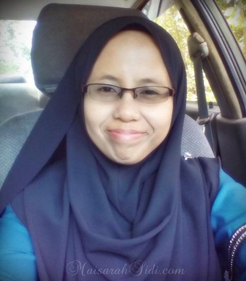 maisarahsidi.com, selfie, cabaran 7hari, efgkbba