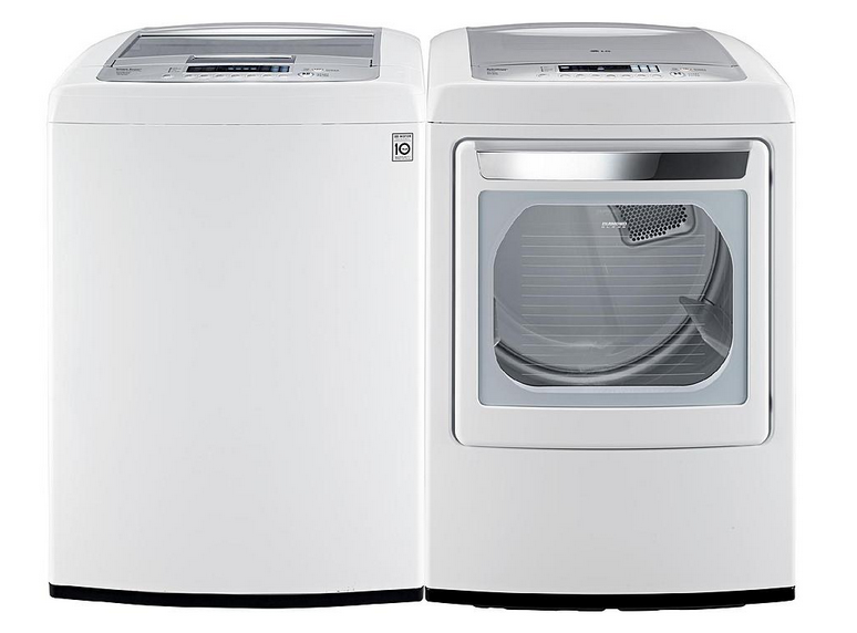 LG Washer and Dryer from Sears