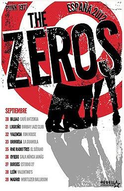 The Zeros de gira por España