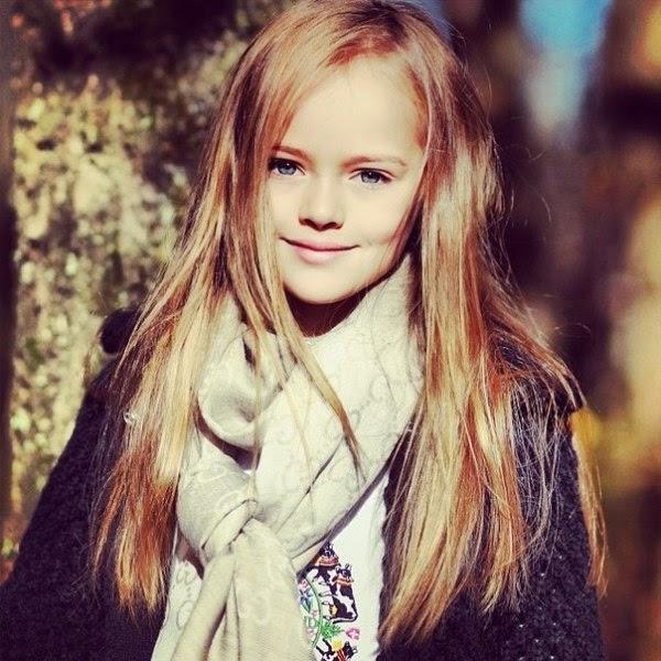 Foto Kristina Pimenova kategori anak paling cantik di dunia terbaru