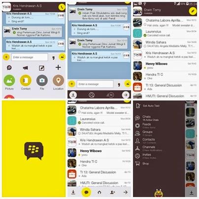 BBM Mod Tema Kakao Talk V.2.8.0.21 Apk