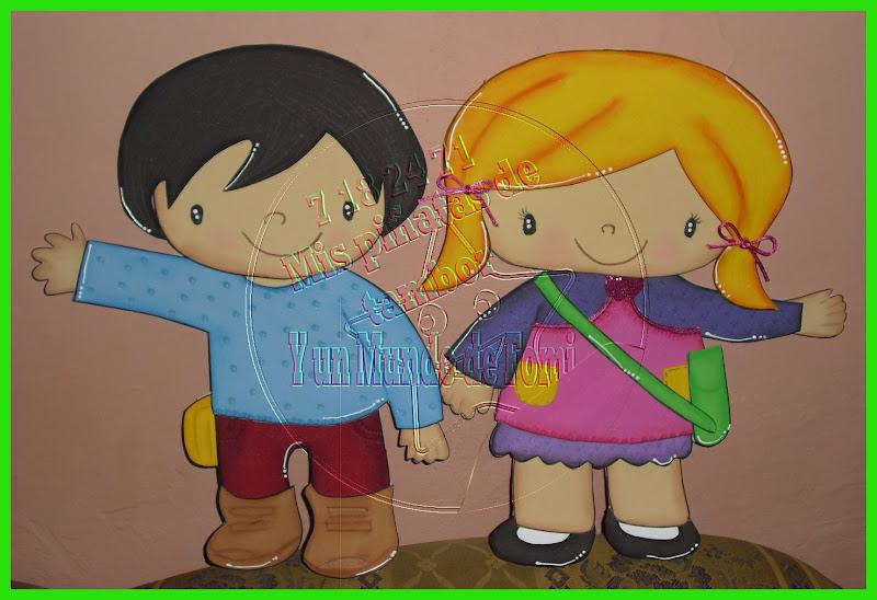 Imagenes de niños hechos en foami - Imagui