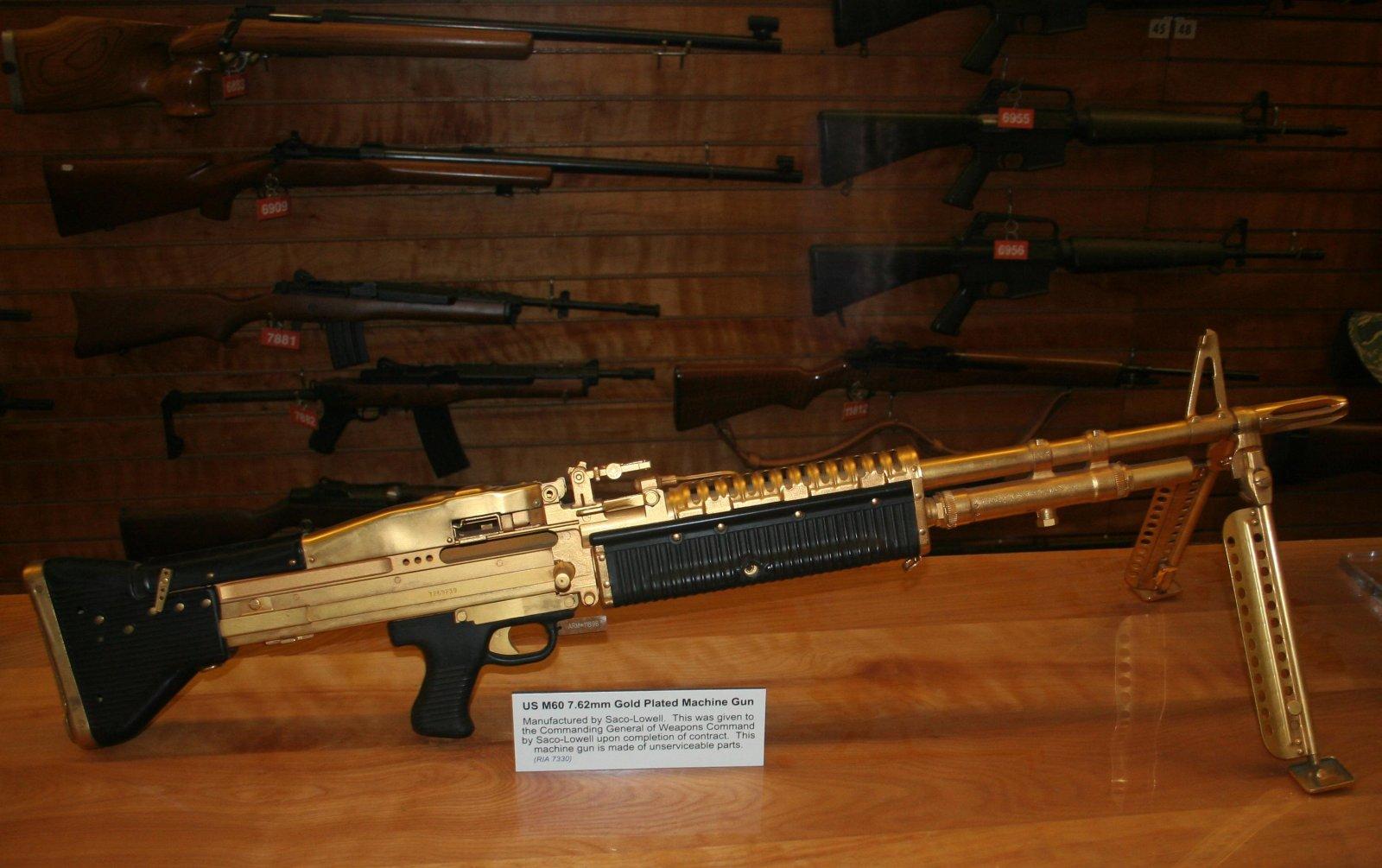 m60 machine gun pictures