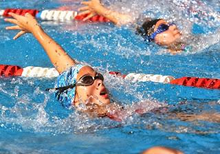 Podio albinegro en el Norpatagónico de natación