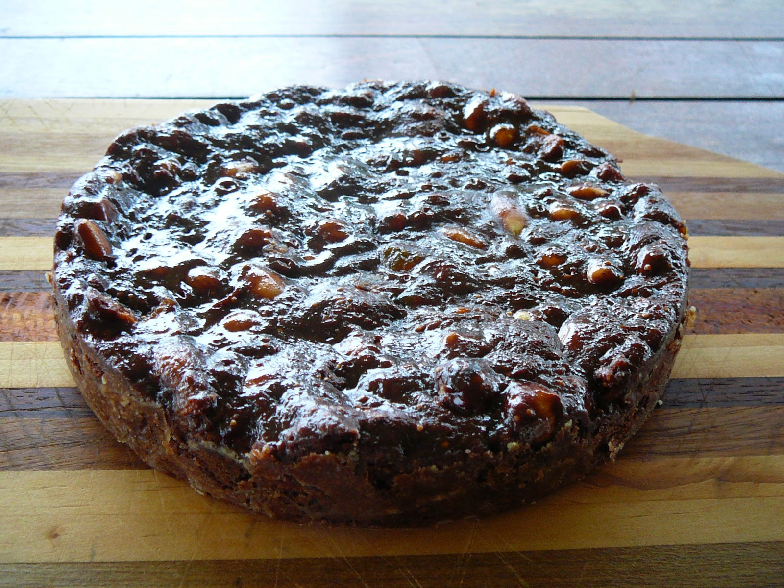 Marcellina in Cucina: Chocolate, Apricot and Hazelnut Panforte