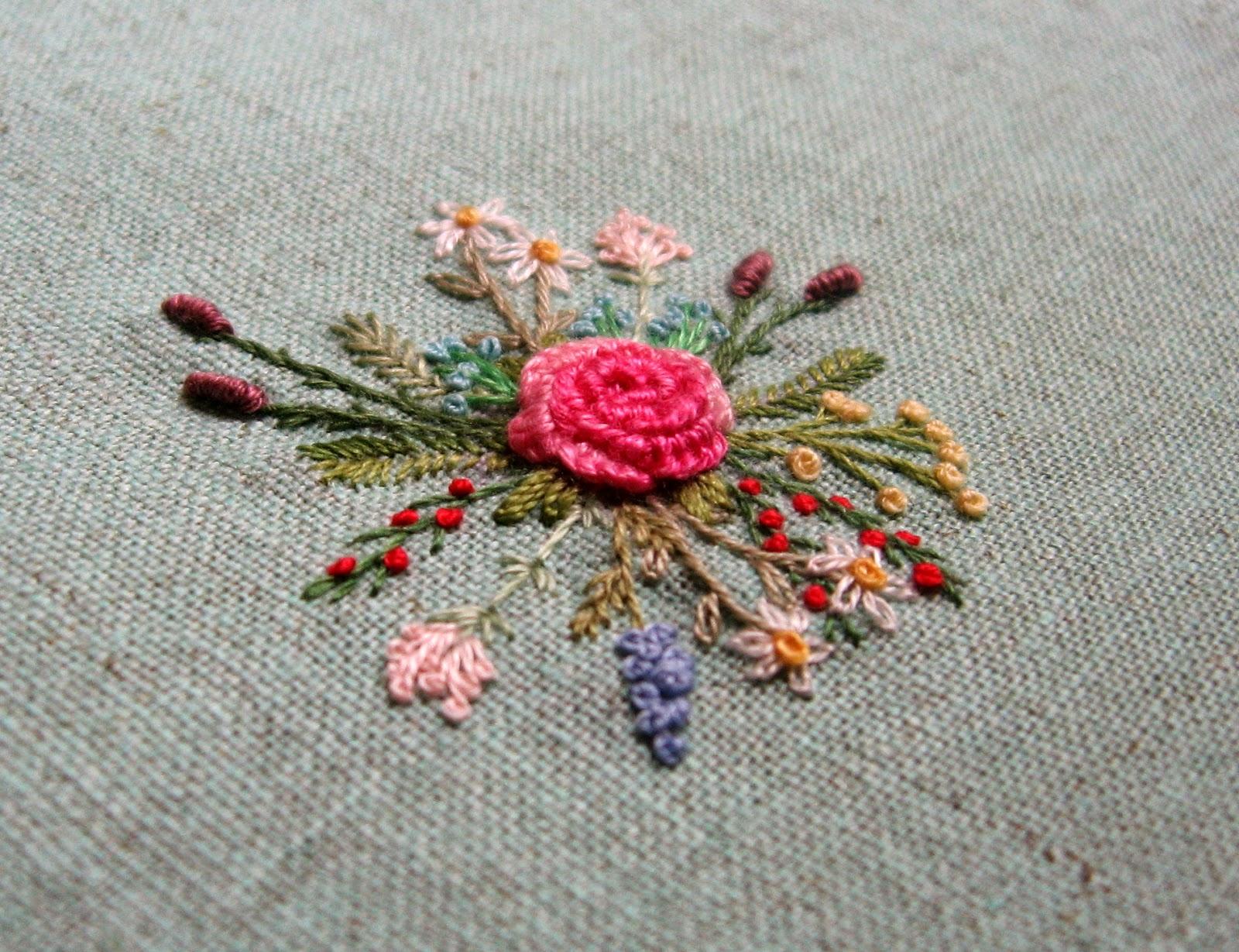 Вышивки шов рококо фото