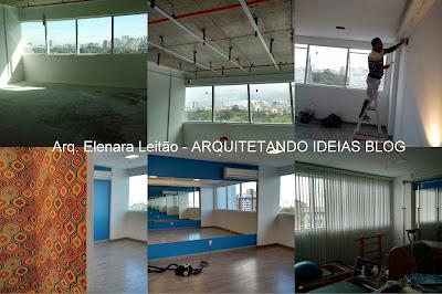 Clinica de Pilates - Projeto Arq. Elenara Leitão