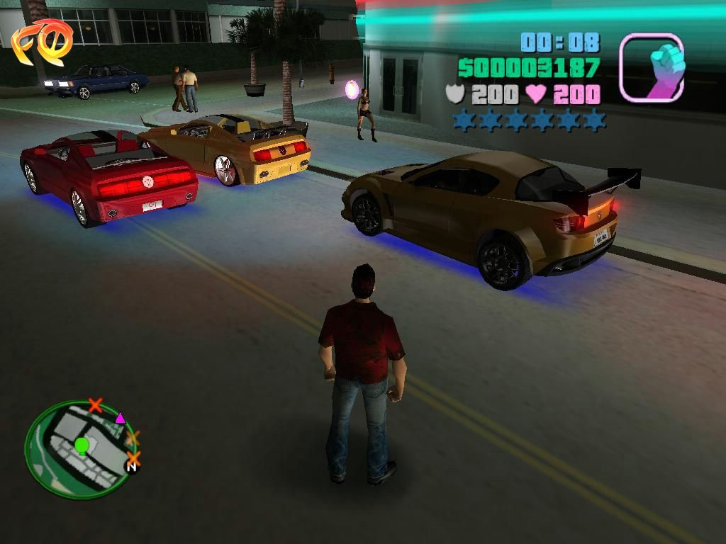 Windows 7 Grand Theft Auto: Vice City Ultimate Vice City Mod 2.1 full