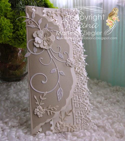 wedding envelope vertical