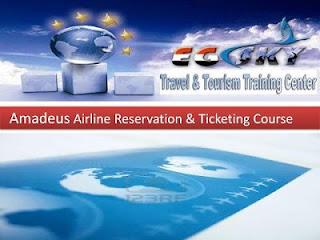 كورس اماديوس   دورات حجز تذاكر طيران   Amadeus course Egsky+amdeus