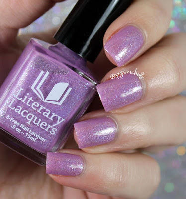 Literary Lacquers Free to Fly